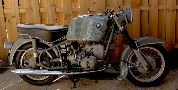 The Zen And Art…1969 BMW R50/2