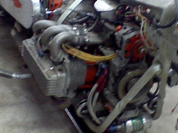 Corvair Powered Motorcycle Engine