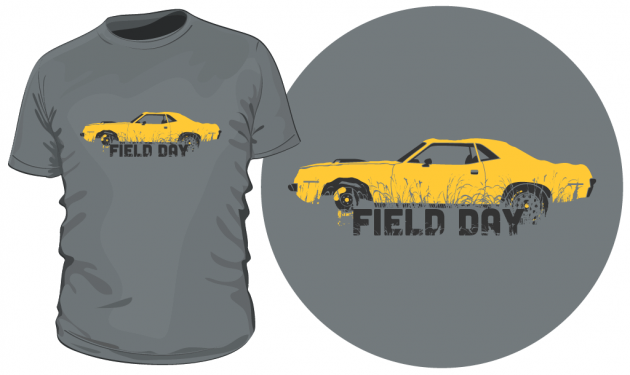"Save 10% On Your ""Field Day"" 'Cuda T-Shirt!"