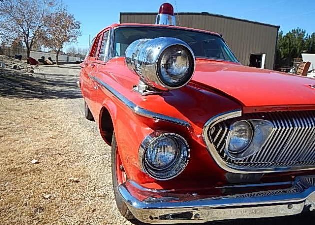 Fire Chief's Dart Wagon