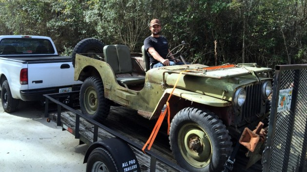 Nathan's 1948 Willys M38 Find