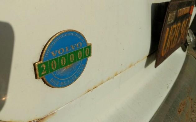 Volvo High Mileage Club Badge