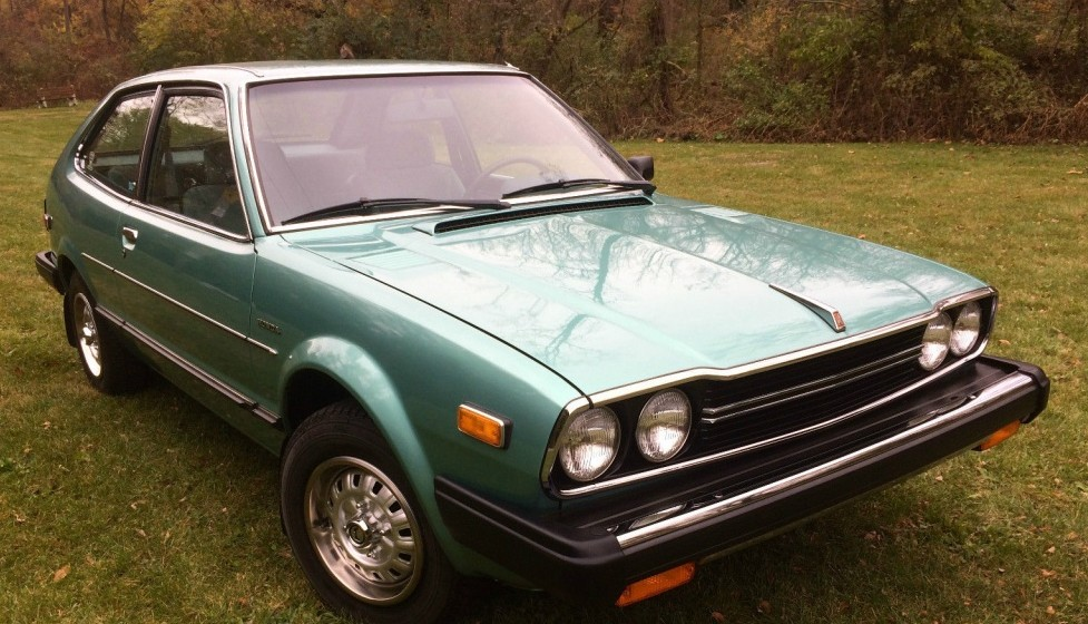 1981 honda accord lx with less than 5k miles for Honda accord old model