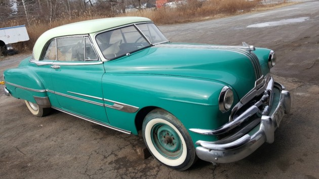 Partially Finished: 1952 Pontiac Chieftain Deluxe