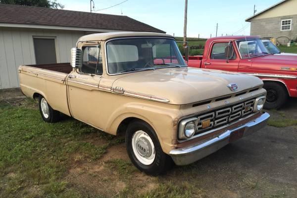 never left home 1964 ford f250 pickup. Black Bedroom Furniture Sets. Home Design Ideas