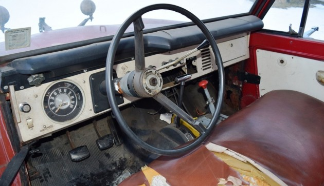 Gas Station Plow 1969 Ford Bronco