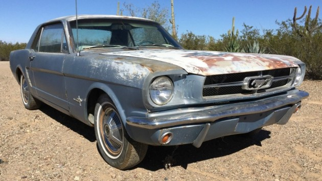 Sunburnt And Stock: 1965 Ford Mustang