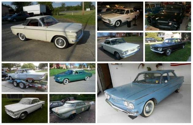 Like Early Corvairs? Ten 1960 Corvairs For Sale!