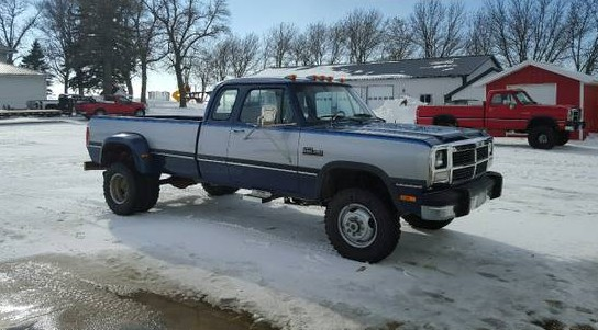 Stump Puller: 1993 Dodge W350