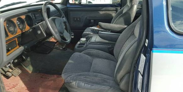 Stump Puller: 1993 Dodge W350