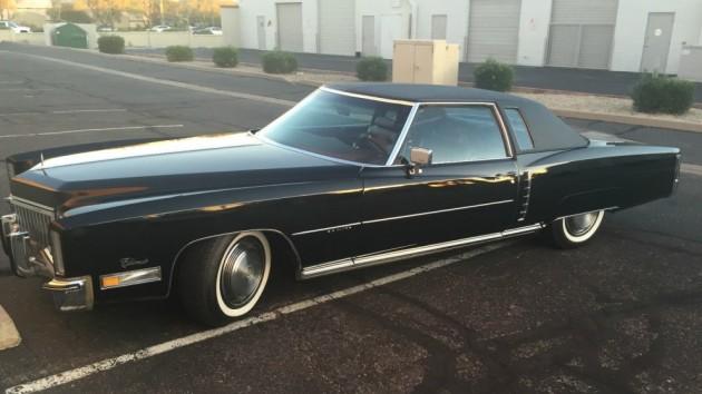 Bad in Black: 1972 Cadillac Eldorado