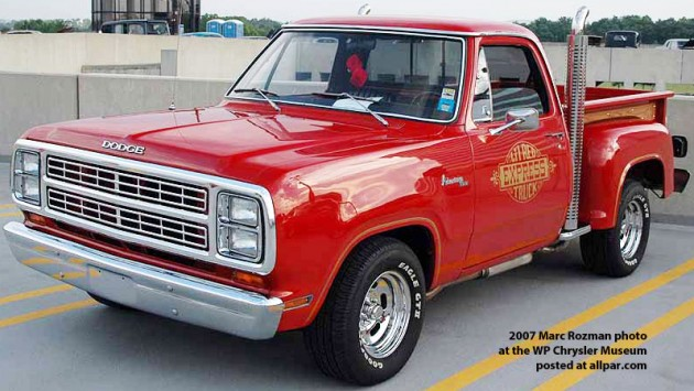 Ready To Roll: 1978 Dodge Lil' Red Express