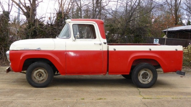 Red, White And Nice All Over: 1958 Ford F-100