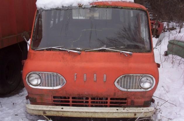 Vintage DPW: 1965 Ford Falcon Van. Fordvan1