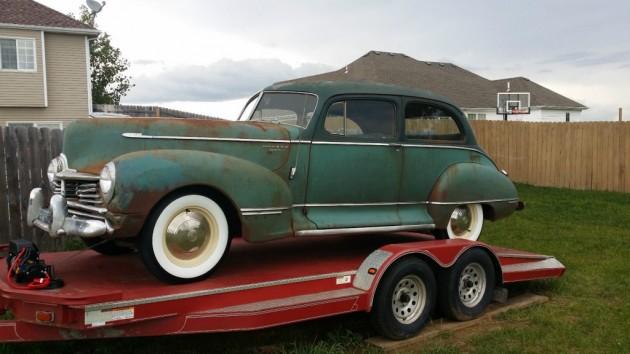 Super Find: 1947 Hudson Super Six