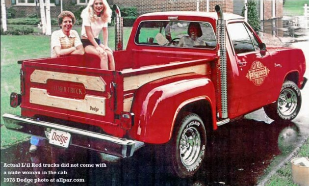 ready to roll 1978 dodge lil red express. Cars Review. Best American Auto & Cars Review