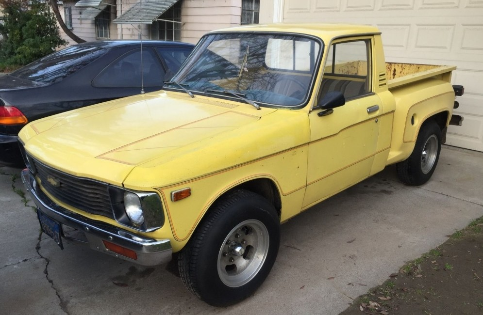Cute With Attitude Stepside Chevy Luv