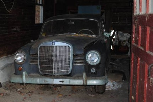 40 Years Parked: 1960 Mercedes 190B