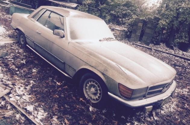 Barn Find Euro: 1977 Mercedes 350SLC
