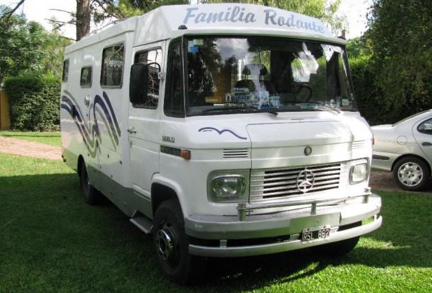Camper to be 1974 mercedes 608d van for Mercedes benz campervan usa