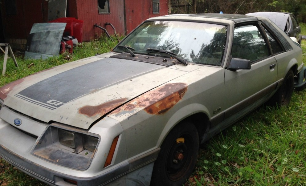 Backyard Project 1986 Ford Mustang Gt