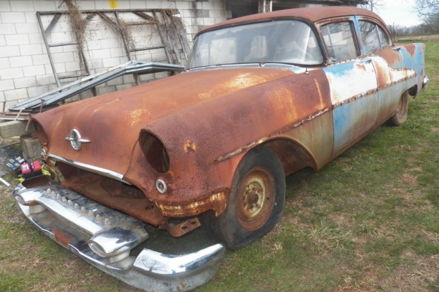 Just $799: 1955 Oldsmobile 88