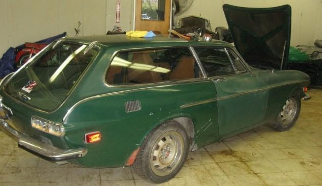 Rusty But Running: 1973 Volvo 1800ES