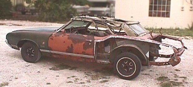 Rusted Sword Chapter Two: 1971 Oldsmobile Cutlass