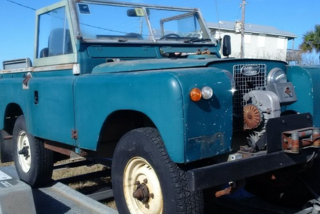 Off Roader Needs New Owner: 1968 Land Rover Series IIA