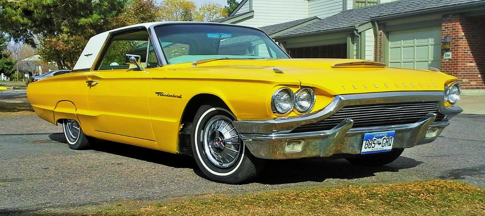 sunny bird 1964 ford thunderbird hardtop. Cars Review. Best American Auto & Cars Review