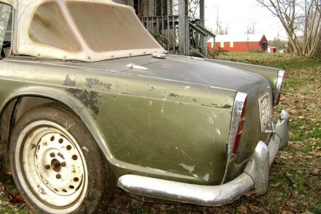 Frame Transplant: 1962 Triumph TR4