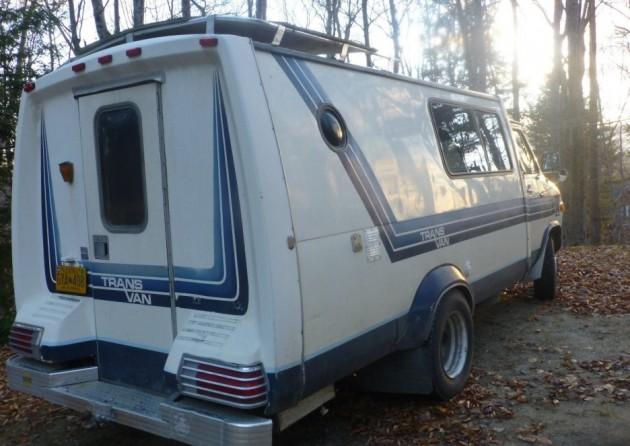 roadtrip delight  1979 chevy trans van
