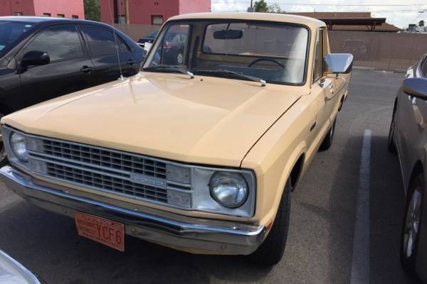 Clean Courier: 1979 Ford Pickup