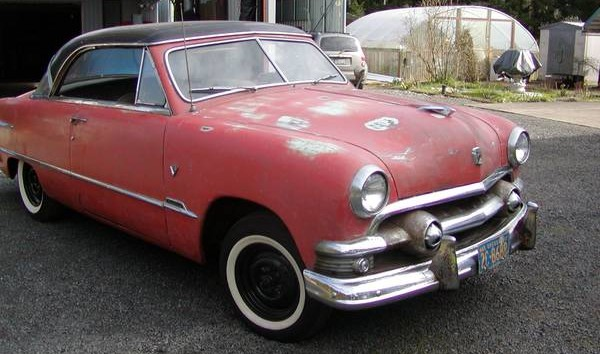 Virgin Vicky: 1951 Ford Hardtop