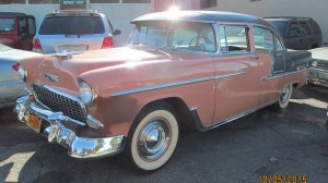 Charming in Coral? 1955 Chevrolet Bel Air