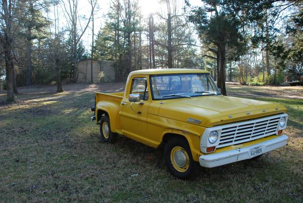 Step Right Up: 1967 Ford F-100 Stepside