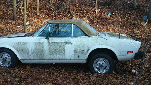 030316 Barn Finds - 1980 Fiat 124 Spider 4