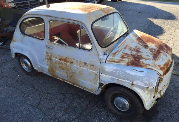 Last Year Made 1969 Fiat 600