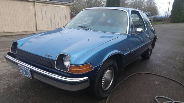 The Wide One: 1977 AMC Pacer DL