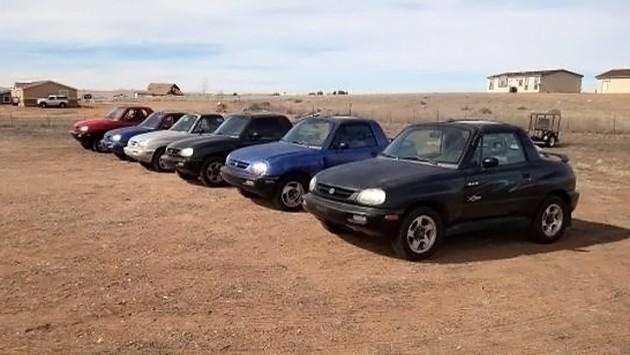 030716 Barn Finds - 1995-97 Suzuki X90s 1