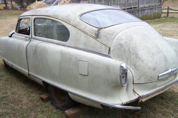 030916 Barn Finds - 1951 Nash Airflyte 3