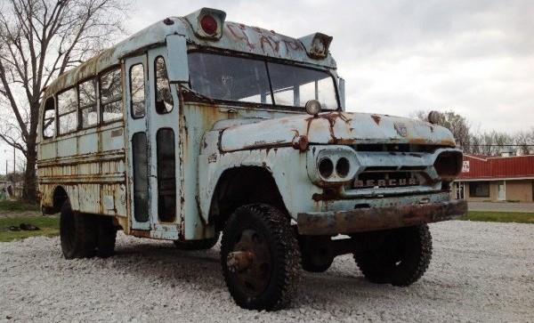 030916 Barn Finds - 1960 Mercury NAPCO Bus 1