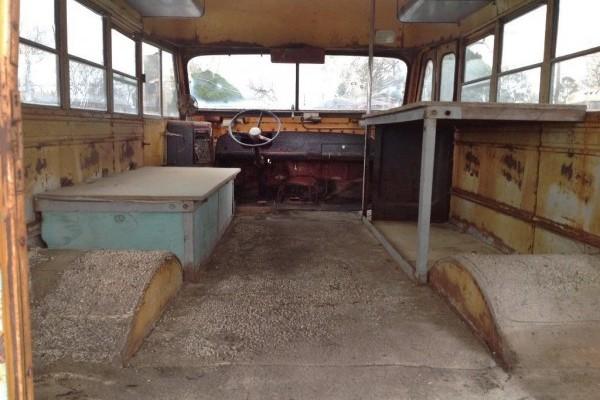 Big Bad Bus: 1960 Mercury NAPCO 4x4 School Bus