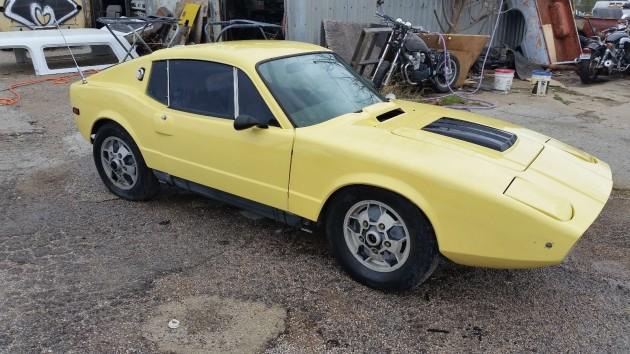Sweet Swede: 1973 Saab Sonett III