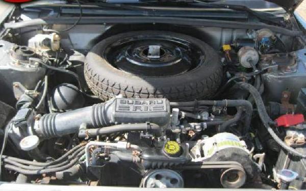 031016 Barn Finds - 1990 Subaru Loyale 6