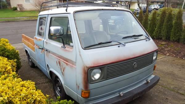 031116 Barn Finds - 1980 VW Vanagon pickup 1