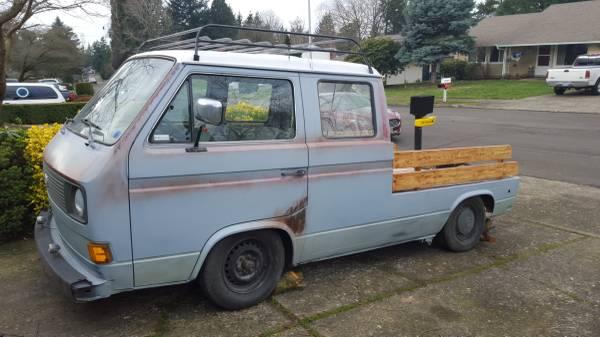 031116 Barn Finds - 1980 VW Vanagon pickup 2
