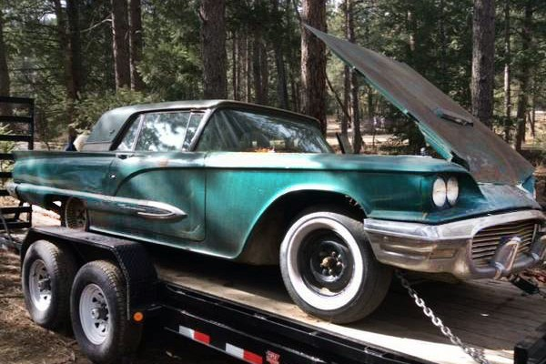 031216 Barn Finds - 1959 Thunderbird 2