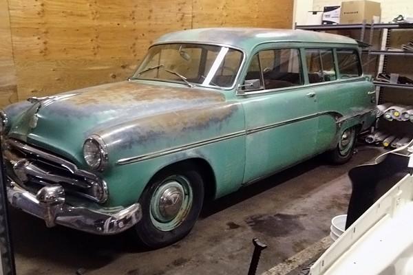 031416 Barn Finds - 1954 Dodge Suburban 2d