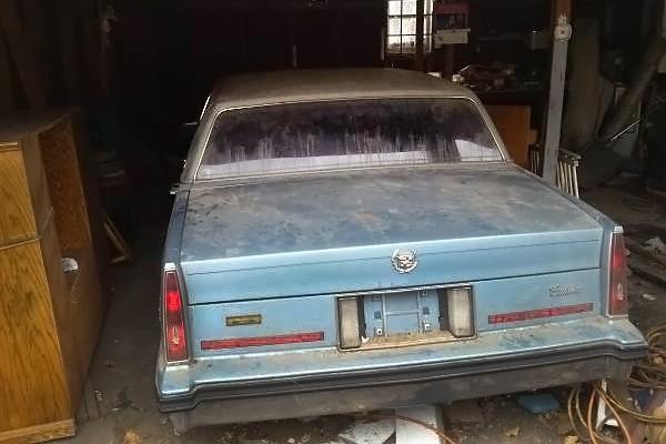 031416 Barn Finds - 1985 Cadillac 2